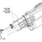 Внутренний корпус УФ-стерилизатора  AquaCristal UV-C 72W,JBL UV-C 72 PP Soket