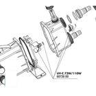 Регулятор потока для УФ-стерилизаторов AquaCristal UV-C 72/110W,JBL UV-C 72/110W turbo bypass switch