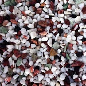 """Грунт натуральный UDeco Canyon Mix """"Разноцветный гравий"""" для аквариумов, 4-6 мм, 6 л"""