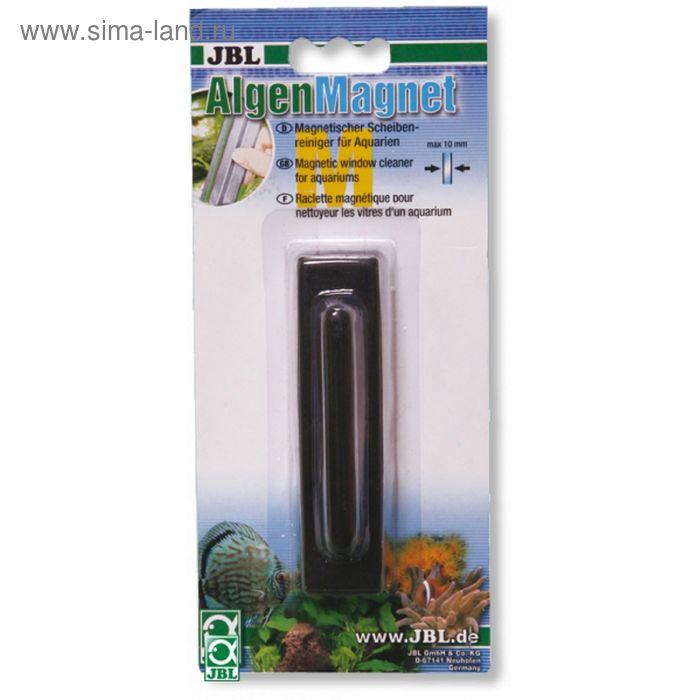 Магнитный скребок для стекол толщиной до 15 мм., JBL Algenmagnet L