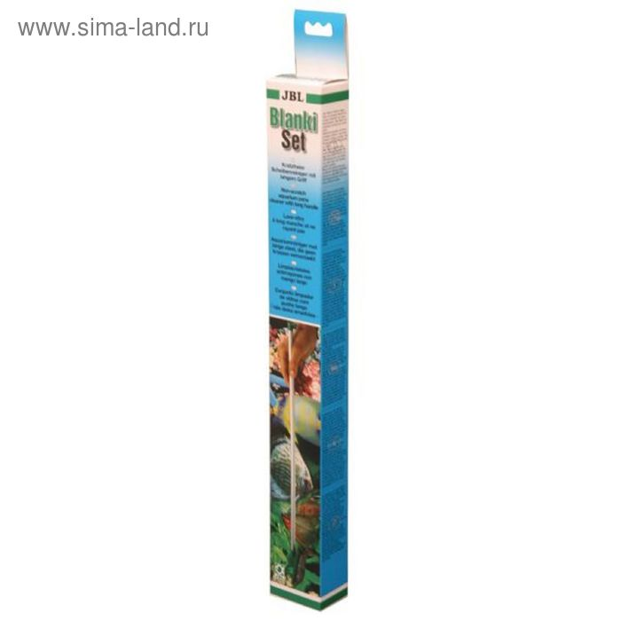 Устройство для очистки стекла с алюминиевой ручкой длиной 45 см.