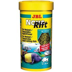 Корм JBL NovoRift для растительноядных цихлид, палочки, 1000 мл., 530 г.