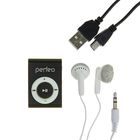 Цифровой MP3-аудиоплеер Perfeo Music Clip Titanium, чёрный