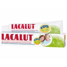 Детская зубная паста Lacalut Kids 4-8 лет, 50 мл