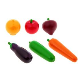 Набор продуктов 'Овощи', в пакете 6 шт. Ош