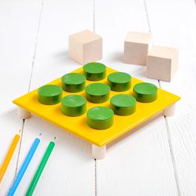 Мозаика «4 поля» шайба: 3 × 3 × 1 см