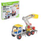 """Constructor metal """"Car crane"""", 154 parts"""