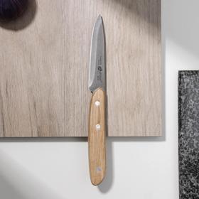 Нож кухонный для овощей Apollo Woodstock, лезвие 8 см