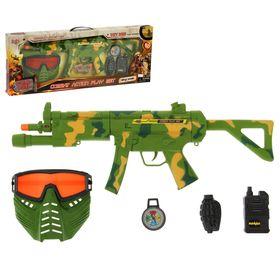 Набор военного «Защитник», 5 предметов, световые и звуковые эффекты