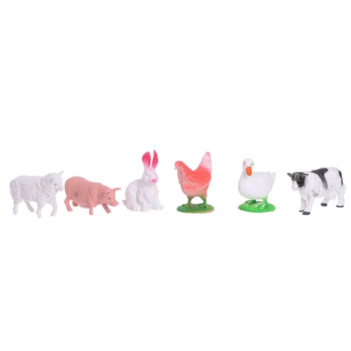 Набор животных «Моя ферма», 6 фигурок