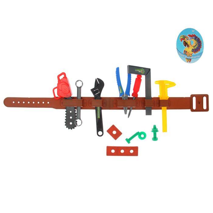 Набор инструментов «Мастер», с поясом, 14 элементов