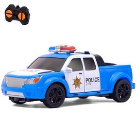 Машина радиоуправляемая 'Полицейский патруль', 1:32, работает от батареек Ош