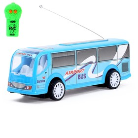 "Bus RC ""delivery Service"", light effects, battery powered MIX"