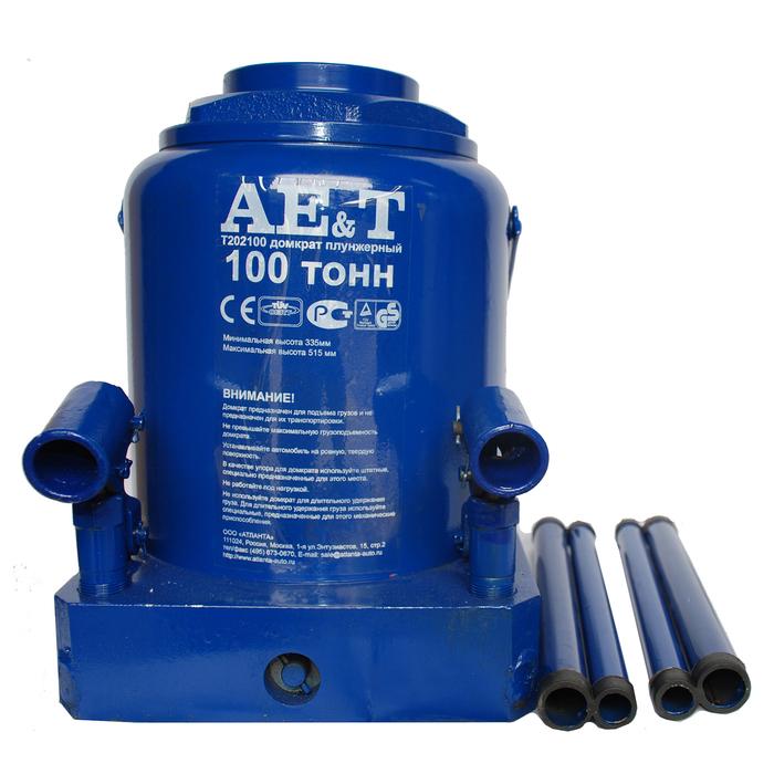 Домкрат бутылочный AE&T T202100, 335-515 мм, 100 т