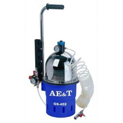 """Приспособление для замены тормозной жидкости AE&T GS-452, резервуар 10л, 0.7-2.8бар, 1/4"""","""