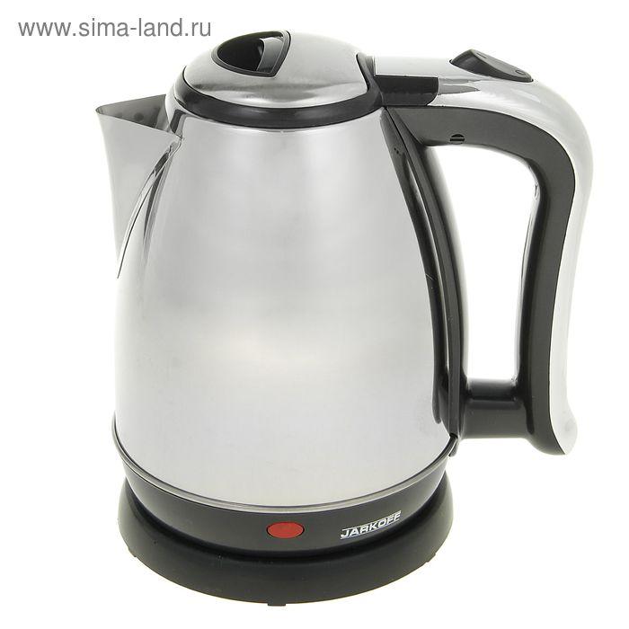 Чайник электрический JARKOFF JK-200SS, 1500 Вт, 1.8 л, серебристый