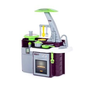 Игровой модуль «Кухня Laura» с варочной панелью, световые и звуковые эффекты, работает от батареек