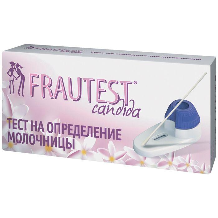 Тест на определение молочницы FRAUTEST сandida (тест-система) 1 шт.