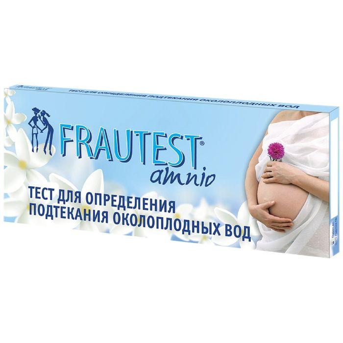 Тест на определение подтекания околоплодных вод FRAUTEST amnio (тест-прокладка) 1 шт.