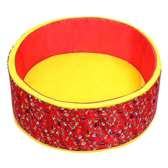 """Сухой бассейн """"Весёлая поляна"""", цвет красный"""