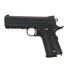 Пистолет пружинный Galaxy Colt 1911PD Rail G.25