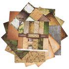 Набор бумаги для скрапбукинга Military, 12 листов, 30,5 х 30,5 см, 180 г/м