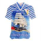 Магнит в форме футболки «Севастополь»