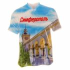 Магнит в форме футболки «Симферополь. ЖД Вокзал»