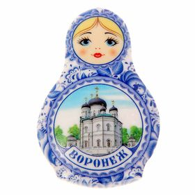 "Magnet in the shape of dolls ""Voronezh"""