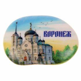 Магнит в форме большой гальки «Воронеж» Ош