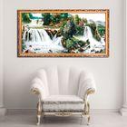 """Гобеленовая картина """"Речные водопады в горах"""""""