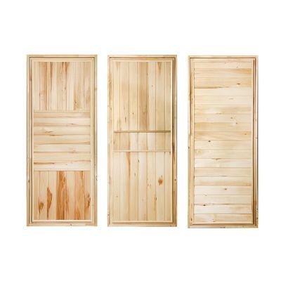 """Дверь для бани """"ЭКОНОМ"""", горизонталь, 180х80см"""