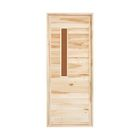 """Дверь для бани и сауны """"Банная"""" , 170х80см"""