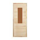 """Дверь для бани и сауны """"Классика №1"""", 190х80см, """"Добропаровъ"""""""