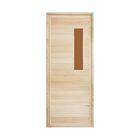 """Дверь для бани и сауны """"Классика №2"""", 190х80см, """"Добропаровъ"""""""