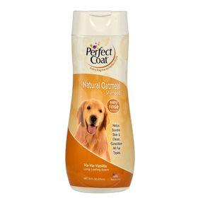 Шампунь овсяный успокаивающий 8in1 PC Natural Oatmeal для собак, для кожи с ароматом ванили, 473 мл