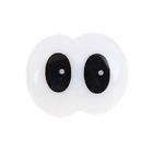 Глаза винтовые сдвоенные, с заглушками, 2 шт, размер 2,45*1,9 см