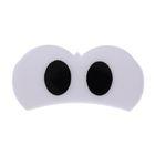 Глаза винтовые сдвоенные, с заглушками, 2 шт, размер 2,8*1,35 см