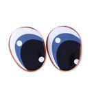Глаза винтовые с заглушками, набор 4 шт, размер 1 шт 1,8*1,4 см