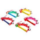 Игрушка музыкальная Бубен «Звери» с колокольчиками, МИКС - фото 106524874