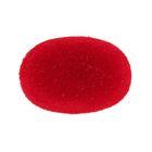 Носик винтовой с заглушкой, ворсистый, набор 2 шт, размер 1 шт 2,4*1,6 см