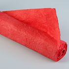 """Бумага для декорирования """"Де люкс"""", жатая, красная, 0,7 х 5 м"""