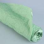 """Бумага для декорирования """"Де люкс"""", жатая, мятная, 0,7 х 5 м"""