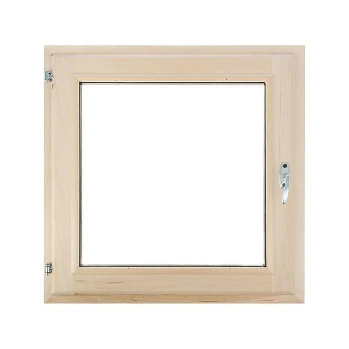 Окно 70х70 см, двойной стеклопакет