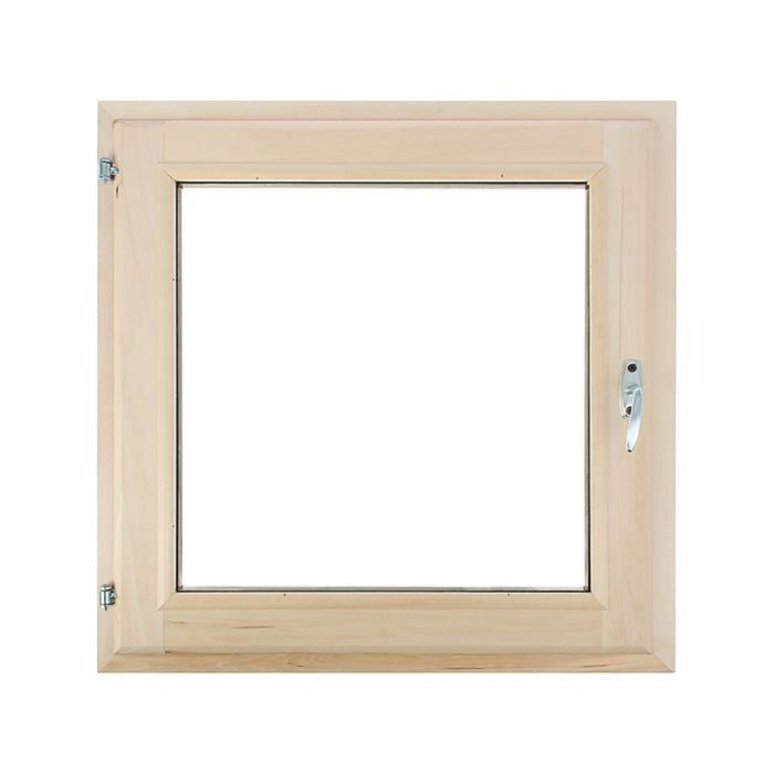 Окно 80х80 см, двойной стеклопакет