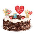 """Набор для украшения торта """"Я люблю тебя"""""""