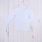 Водолазка для мальчика, рост 152 см (38), цвет белый 957-ДКМ-04