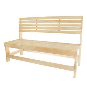 Скамейка без подлокотников 150х50х90 см