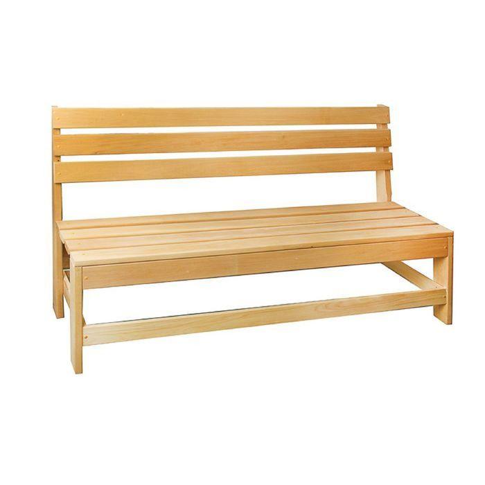 Скамейка без подлокотников 160х55х90 см