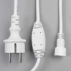 "Комплект для подкл. гирлянд ""Занавес"" до 6000 LED, Н.Б. ""Каучук"" 2W, фикс"